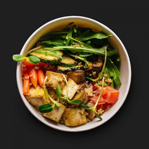 Вегетаріанський поке боул з тофу - доставка в Днепре