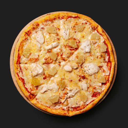 Піца з куркою і ананасами (Гавайська) - доставка в Днепре
