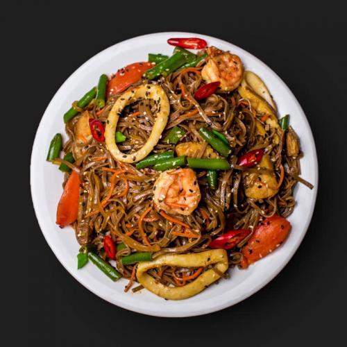 Wok Соба з морепродуктами - доставка в Днепре